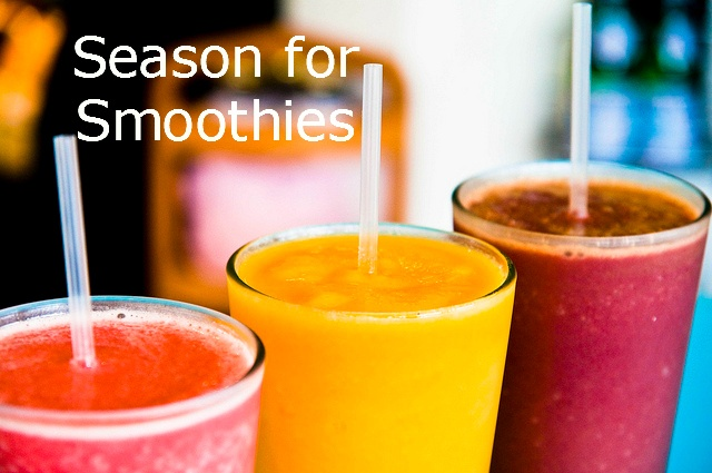 great fun summer ideas have a smoothie in these 3 colorful flavors