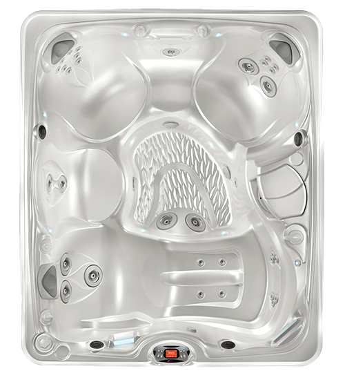 Caldera Paradise 2016 Martinique WhitePearl Overhead flat 5 person hot tub martinique spa caldera spas caldera spa wiring diagram at bayanpartner.co