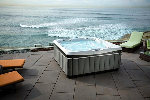 Utopia Tahitian image demonstrates the best luxury hot tub design model