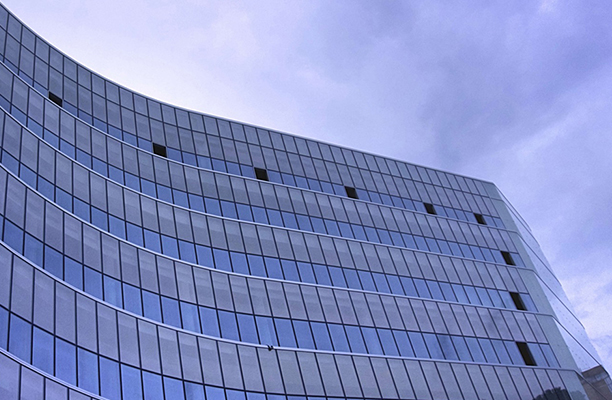 smaller view of generic image of a work building facade